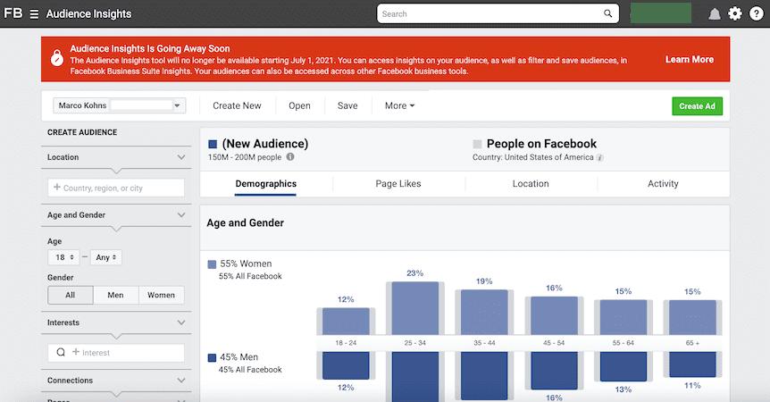 Marketingkonzept_Update_Facebook Audience Insights